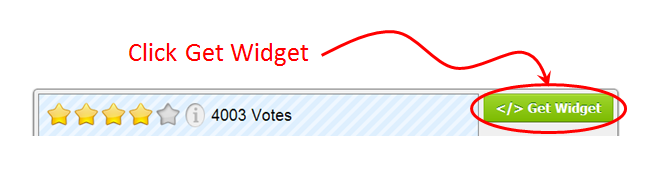 Rating-Widget's Get Widget Button