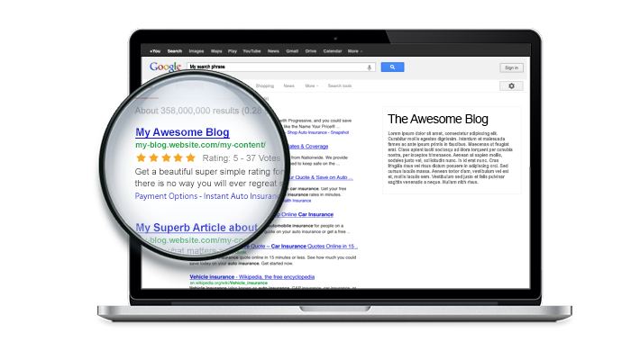 RatingWidget for WordPress Plugin Feature: Increase Search CTR with Google Rich-Snippets